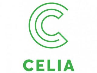 Celia kirjaston logo