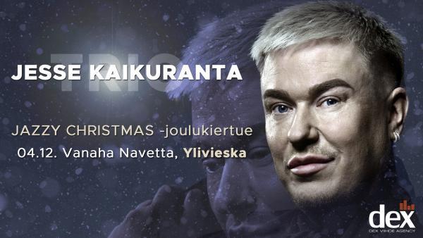 Jesse Kaikuranta - Jazzy Christmas -joulukonsertti Vanahassa Navetassa