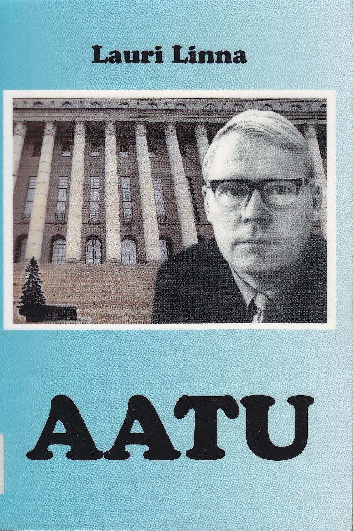 Lauri Linnan Aatu-sarjan viidennen osan kansikuva.