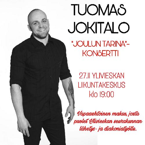 Tuomas Jokitalo Joulun tarina -konsertti