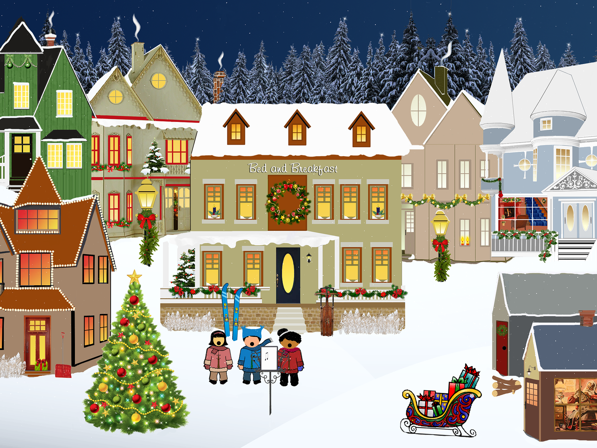 Joulu ja joulutori