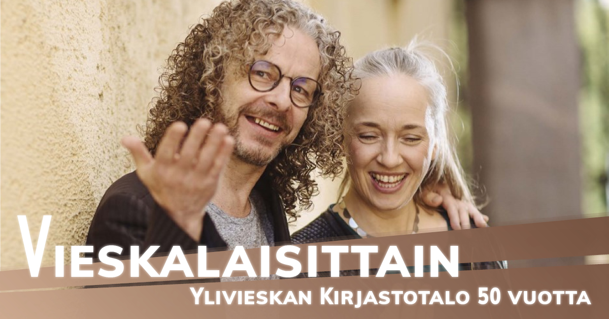 Kotiseutuviikko - Kirjastokeikka Kansalaistorilla - Jukka ja Tove Leppilampi & Jouko Kantola