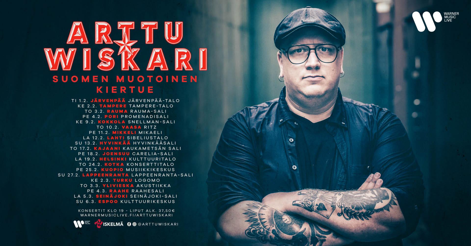 Arttu Wiskari - Suomen Muotoinen Kiertue